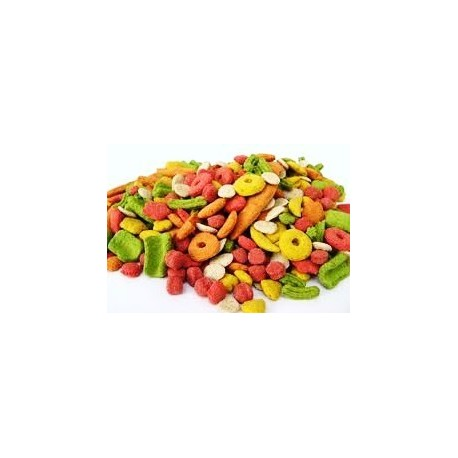 KAYTEE EXACT RAINBOW Extrudés pour perroquets moyens Paquet 766 gr