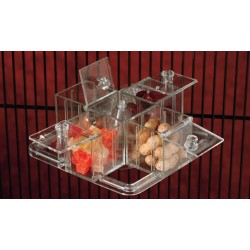 Cubes tournant d'alimentation