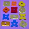 Sac de 12 pièces acrylique