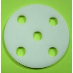 Cercle acrylique 5 Trous